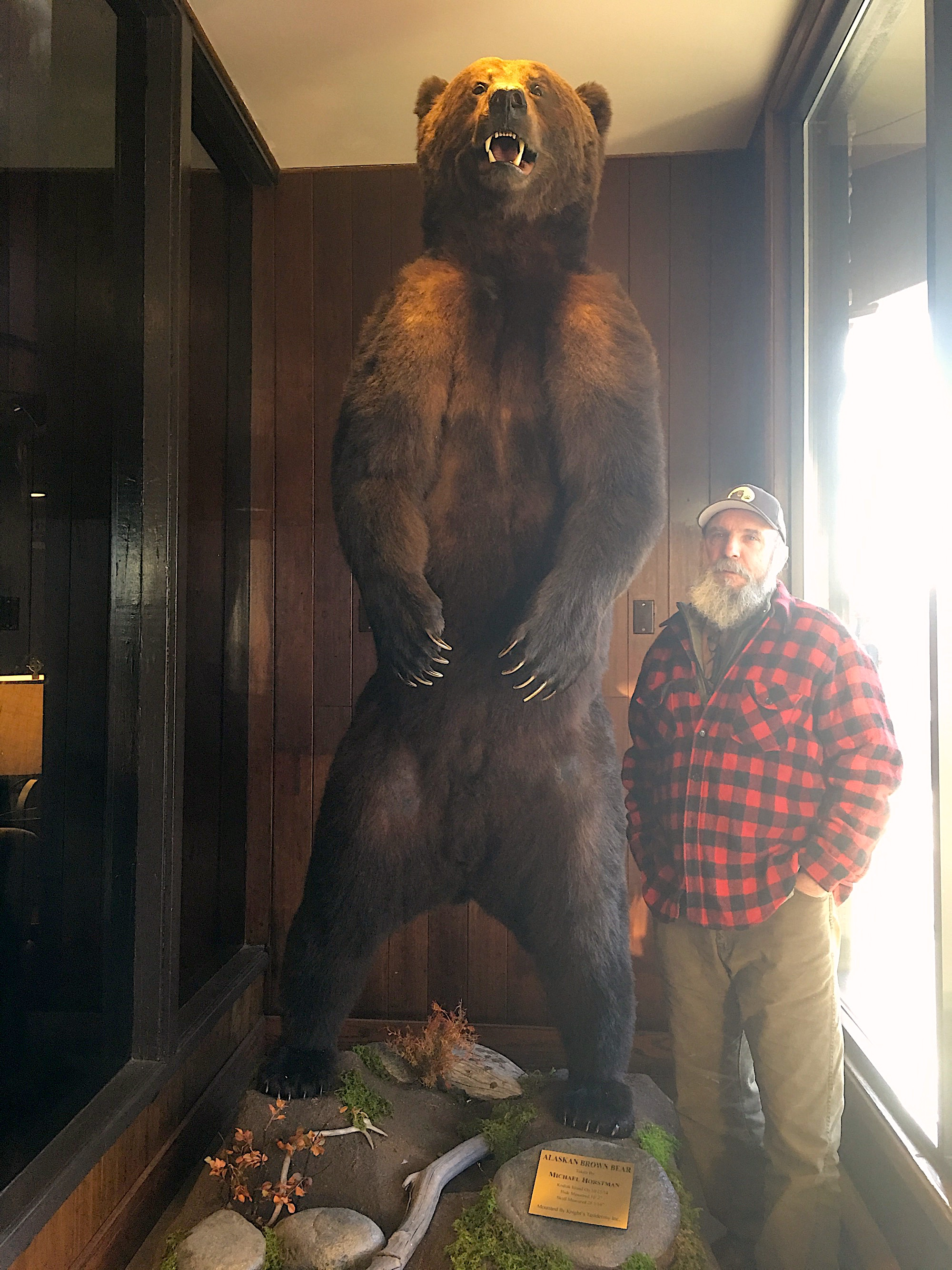 "Big game on Kodiak and primarily Alaska bear hunt on Kodiak with a Master guide and a ""Mountain Man"" Mike Horstman"